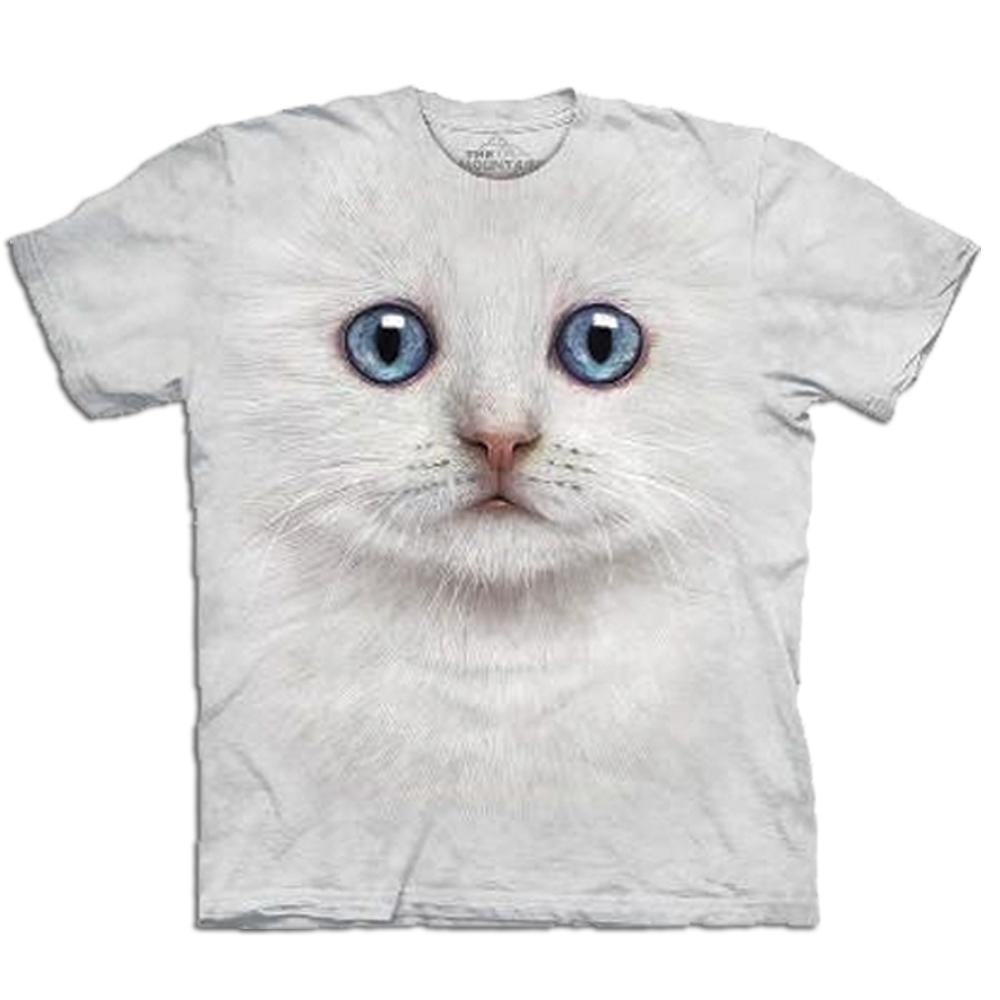 Big Face Tier-T-Shirts – Katze