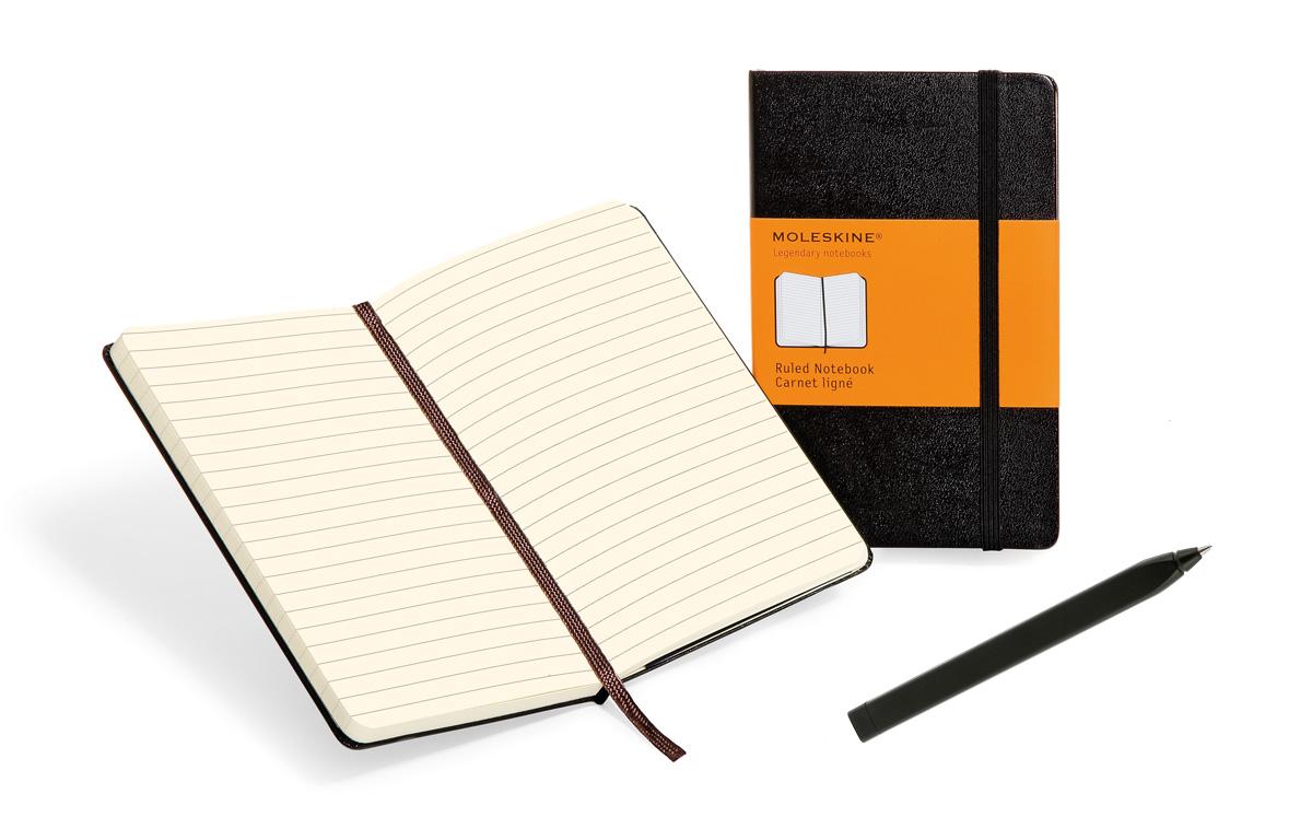 Kreativset – Notizbuch und Stift