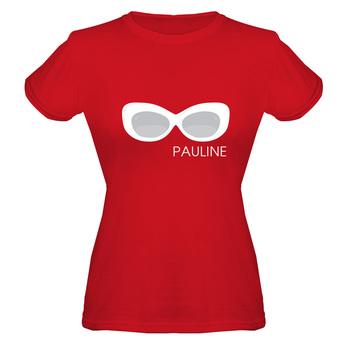 T-Shirt – Damen Regular Rot M