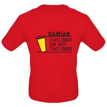 T-Shirt – Herren Regular Red M