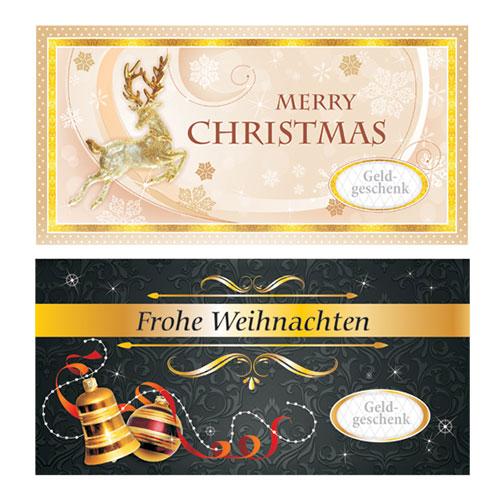 Umschlag für Geldgeschenke – Weihnachten