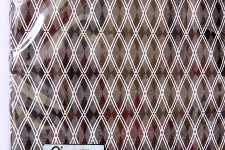 20 Papier-Servietten schwarz weiß modern 33×33